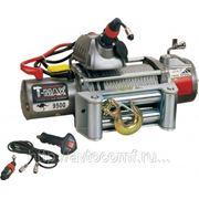 Лебедка автомобильная электрическая T-MAX EW-9500 OUTBACK 12В фото