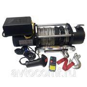Лебедка электрическая Unity 12000 12V с синтетическим тросом фото