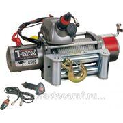 Лебедка автомобильная электрическая T-MAX EW-8500 OUTBACK 12В фото
