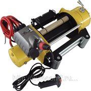 Лебедка электрическая для эвакуатора T-MAX CEW 9000 Commercial 12В фото