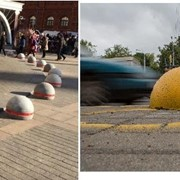 Ограничители парковки фото