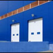 Ворота промышленные секционные фото
