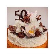 Торт святковий № 350 фото