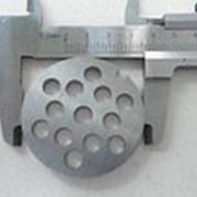 Z028.68 Решетка №4 для Мясорубки NOVIS NMG -6110 (D-53,5/8мм, раб. отв. 8мм, inox) фото