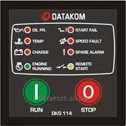 DATAKOM DKG-114 Контроллер ручного и дистанционного управления генератором фото