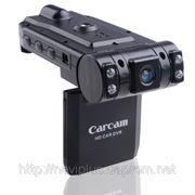Видеорегистратор с двумя камерами CARCAM X1000 фото