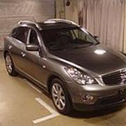 Кроссовер премиум класса люкс NISSAN SKYLINE CROSSOVER класса SUV кузов J50 пробег 13 тыс км цвет серый фото