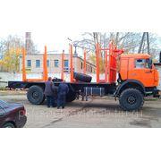 КамАЗ 43118 Сортиментовоз без места под КМУ фото