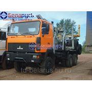 лесовоз тягач полноприводный МАЗ 641808-220-011 с роспуском МАЗ-900810-012 в Красноярске фото