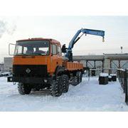 Урал 4320 бортовой с КМУ ИМ-150 фото