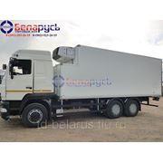 рефрижератор carrier фургон на шасси маз-6312в9 с двигателем рено коробкой zf 16 s фото