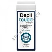 Depiltouch Depiltouch Воск Азуленовый мягкий (Теплые воски в картридже) 87001 100 мл фото