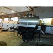 Прицеп - цистерна объемом 1800, 2000 литров на шасси одноосного автомобильного прицепа САЗ-83172-08 фото