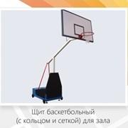 Стойки баскетбольные (с щитом, кольцом и сеткой) для залов фото