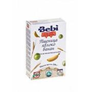 Детская молочная каша BEBI пшеница/яблоко/банан, 250г фото