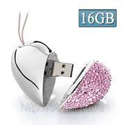 USB Flash накопитель - Алмазное сердце (16 GB) фото