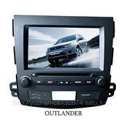 Штатная DVD магнитола MMC Outlander XL 2007-2011 гг. фото