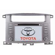 Штатное головное устройство Toyota Land Cruiser 100 VX фото