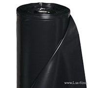 Пленка п/э черная 150 мкм. фото