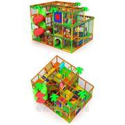 Детский игровой трехэтажный лабиринт. Счастливое детство фото