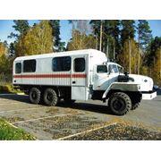 Аварийно-спасательный автомобиль УРАЛ-СА-8-6 (4320) 024ПВ фото