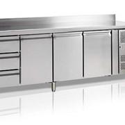Стол холодильный СК7430 Tefcold, размер 850x2230x700 мм фото