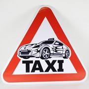 Наклейка Такси фото