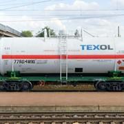 Универсальная вагон-цистерна 15-1210-03 для перевозки бензола и вязких нефтепродуктов фото