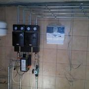 Установка автоматики для систем отопления фото