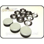 Кнопка Свингер, нержавеющая сталь (кнопка, кнопка швейная, кнопка купить) фото