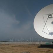 Строительство станций спутниковой связи фото