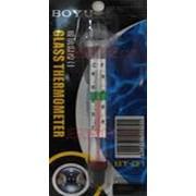 Градусник Boyu Glass Thermometer фото