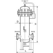 Фильтр-сепаратор газа типа ФСГ фото