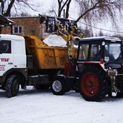 Вывоз снега в Киеве фото