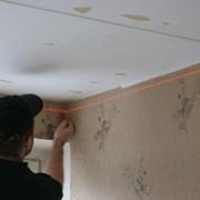 Услуги по монтажу натяжного потолка фото