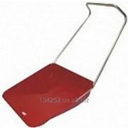 Скрепер волокуша из оцинкованной стали, красный. фото