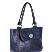 Стильная женская кожаная сумка 1-3281 фото