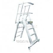 Телескопическая лестница-платформа ТЛП - 1,3-1,9 фото