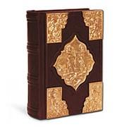 Святое Евангелие с литьем, покрытым золотом фото