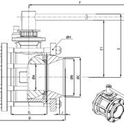 Шаровой кран Meca-Inox из нержавеющей стали PS4 BW фото