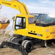 Экскаваторы колесные Hyundai R200W-7 фото