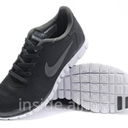 Кроссовки Nike Free 3.0 V2 Black Grey фото