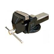 Тиски слесарные из чугуна SG PRO K2 с наковальней, 150 мм фото