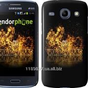 Чехол на Samsung Galaxy Core i8262 World of tanks. Logo 635c-88 фото