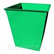 Контейнеры и баки для мусора металлические 0,75м3  фото
