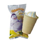Мороженое растительно-сливочное Обжорка лимон фото