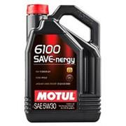 MOTUL 6100 SYN-NERGY 5W30 4л масло моторное фото
