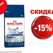 Сухой корм для собак Royal Canin Maxi Light 27 3 кг фото