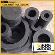 Фторопласт втулка черная 140х50-100 Ф4К20 фото