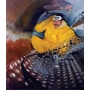 """Гидромеханическая очистка трубок теплообменников и котлов с помощью установки """"Крот"""" фото"""